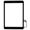 iPad Air Touch Screen with Home Button and Adhesive Tape attached [Original] [Black]